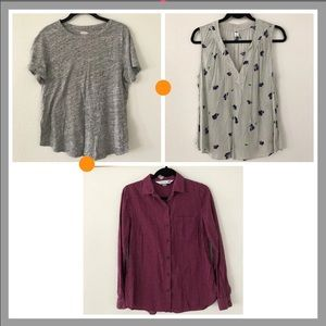 Old navy top bundle